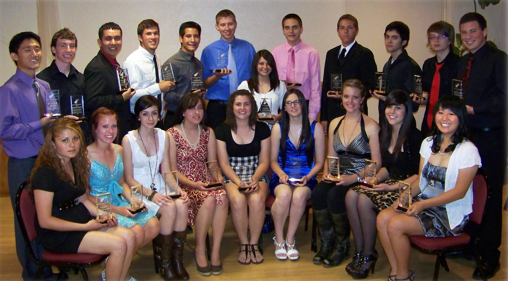 2010 Distinguished Students