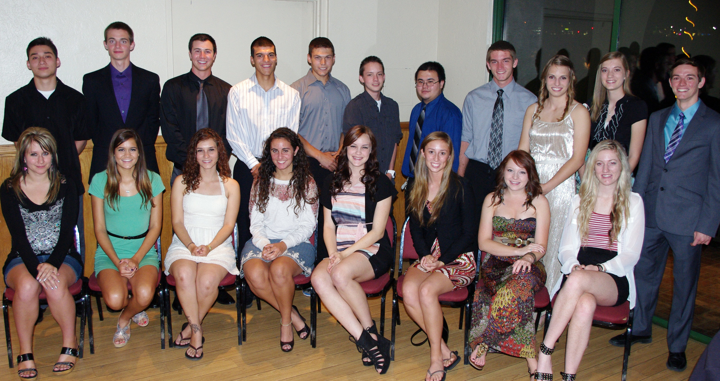 2012 Distinguished Students