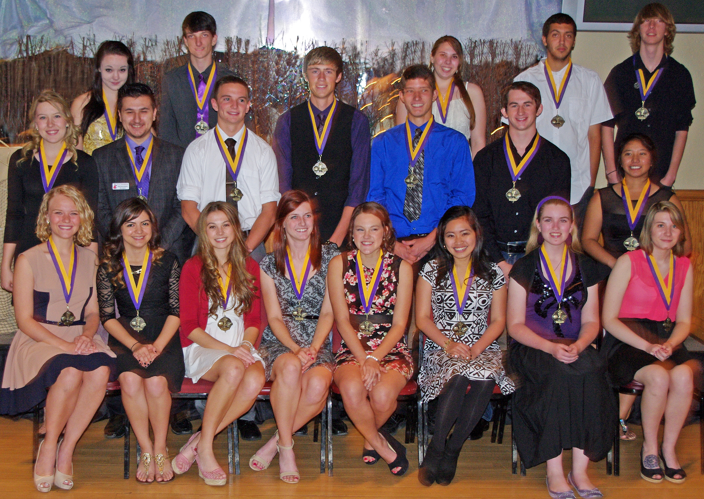 2014 Distinguished Students