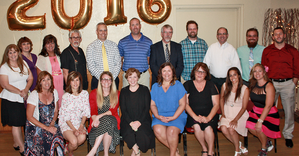 2016 Distinguished Teachers