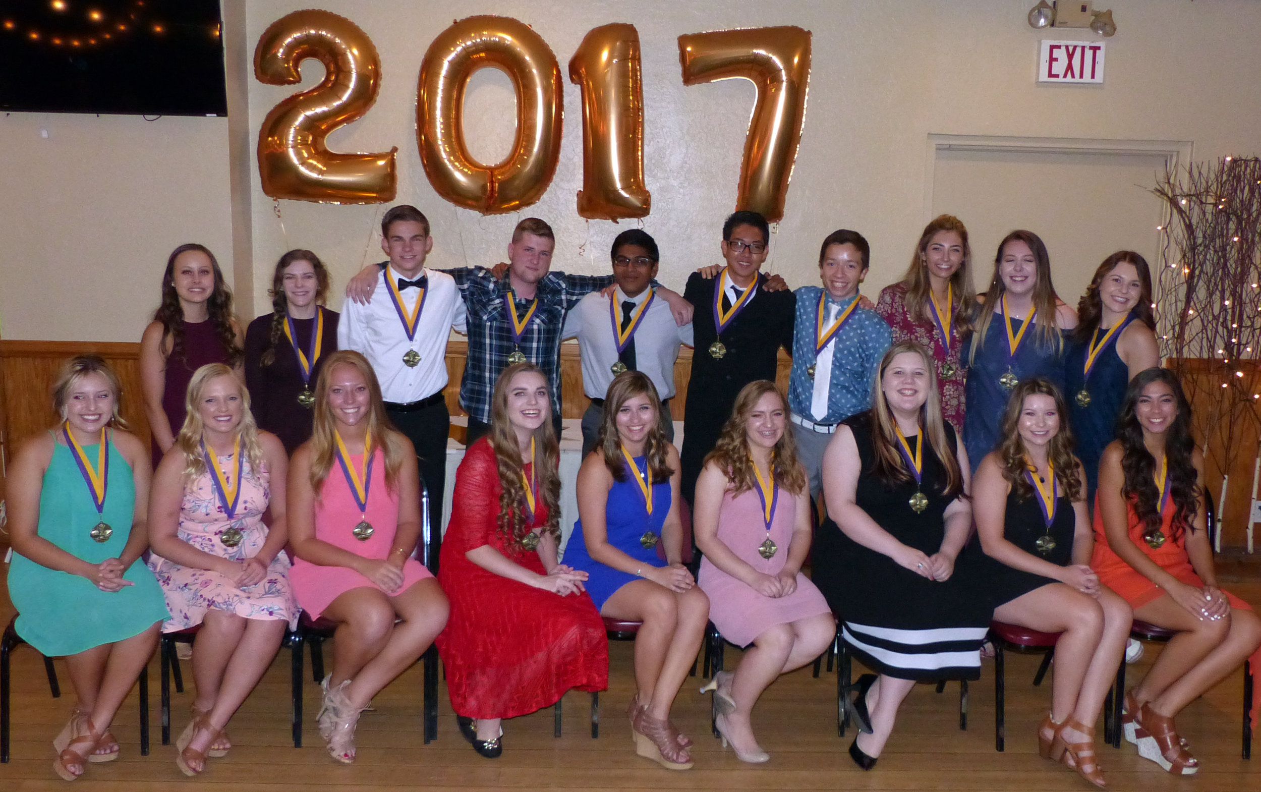 2017 Distinguished Students