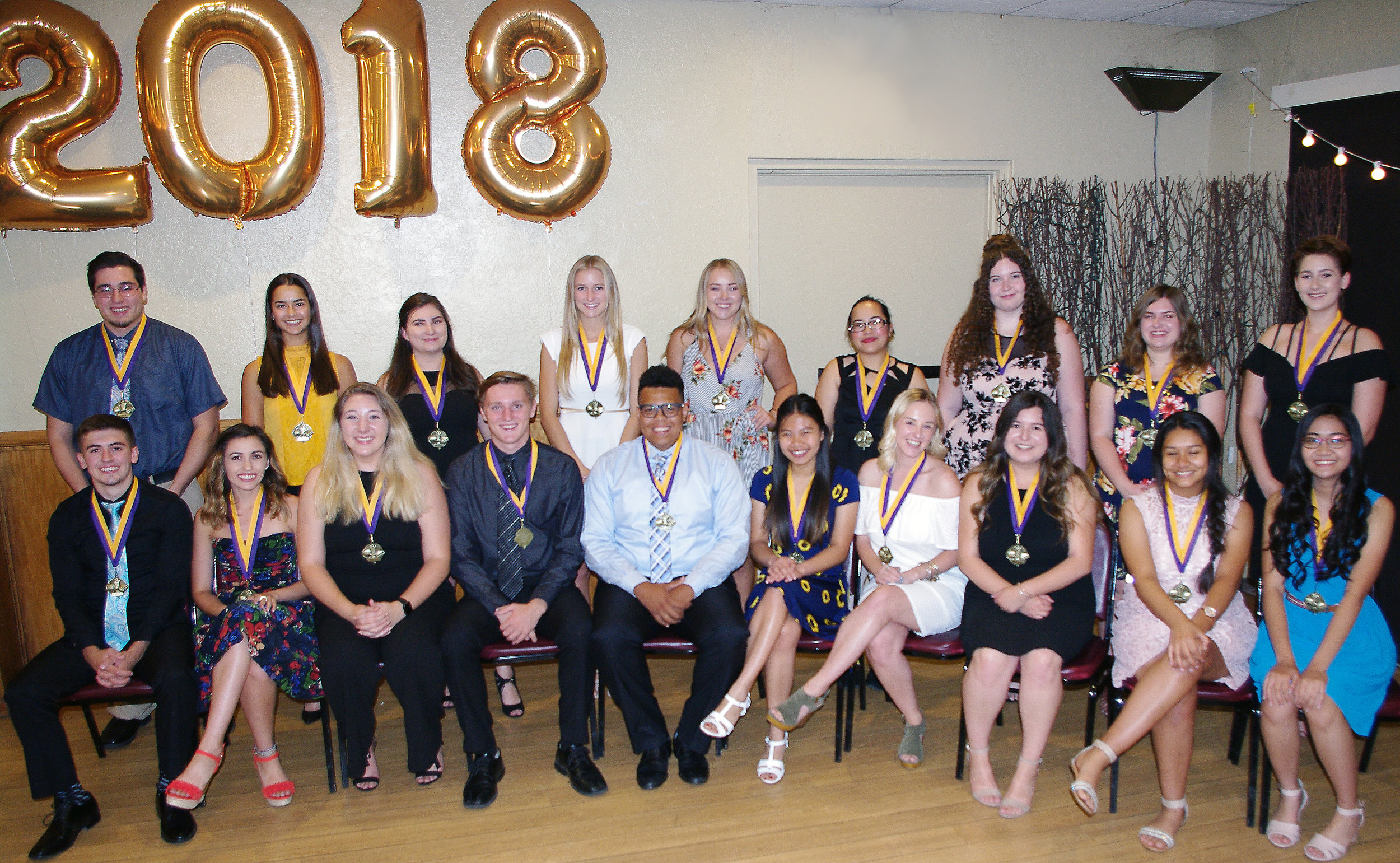 2018 Distinguished Students