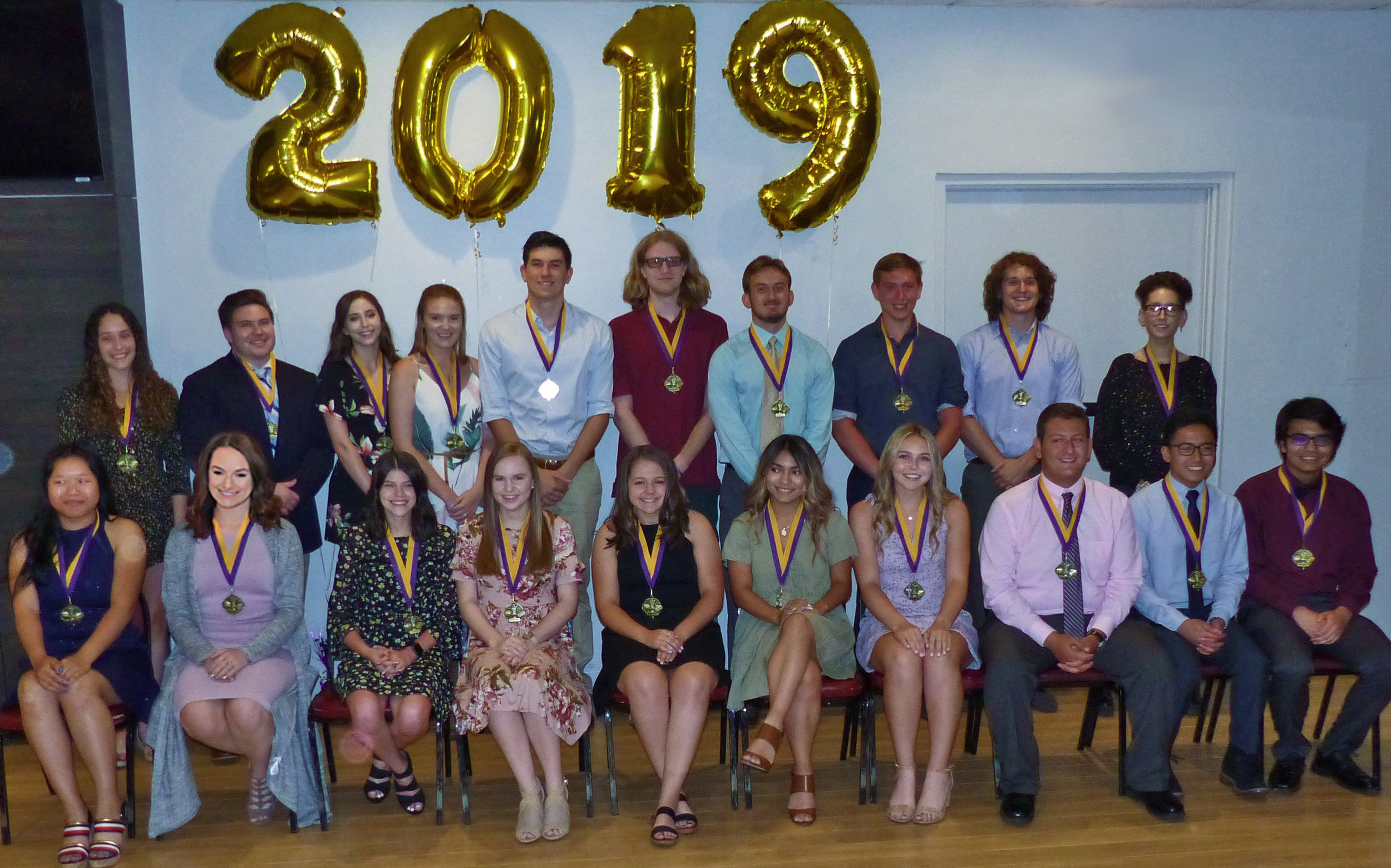 2019 Distinguished Students