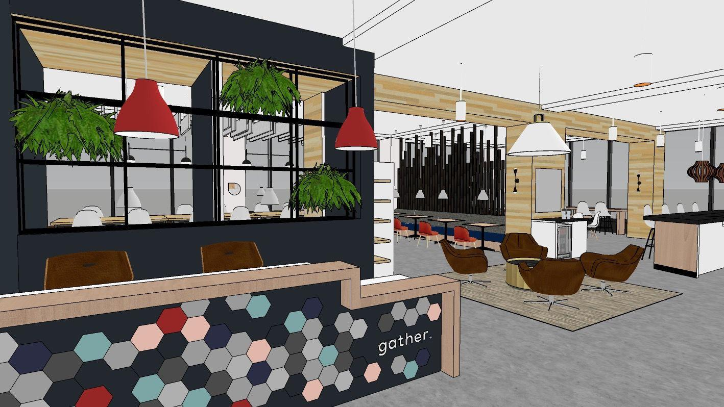Gather Norfolk's design is a collaboration between Campfire & Co. and    Tymoff & Moss Architects   .