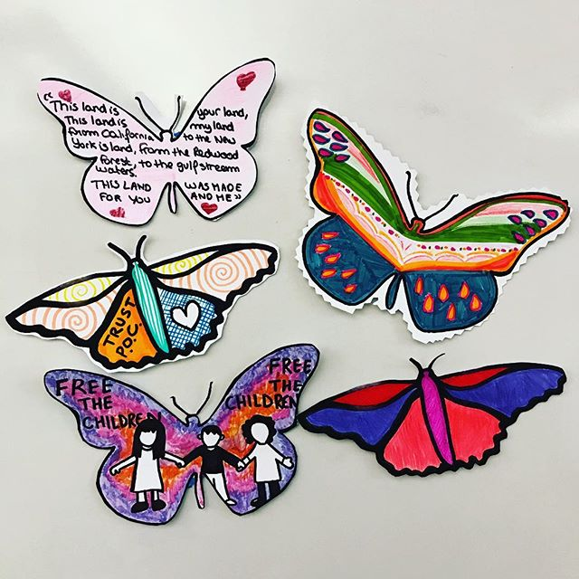 Migration is beautiful. Inspired by Favianna Rodriguez. #globalcitizens @ithacamurals @ic.amnesty