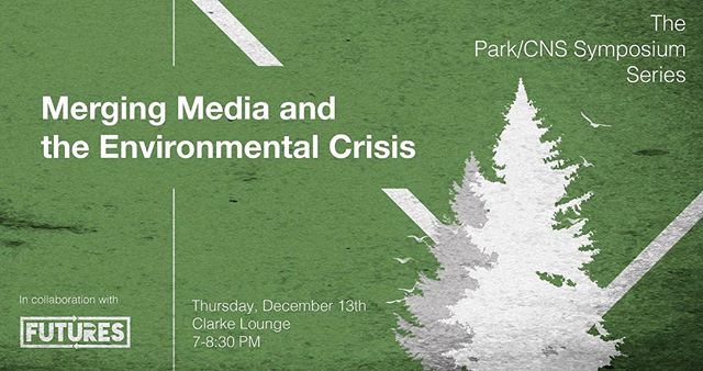 Next Thursday Ithaca! Come listen as students and staff give their takes on the climate crisis, media, and how we can move forward.