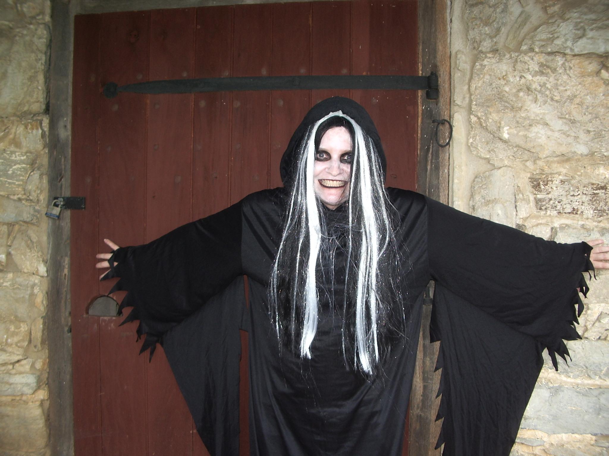 Teller of spooky tales, Jennifer Vanderau.