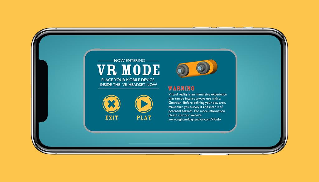 Octonauts App VR Mode Start Screen