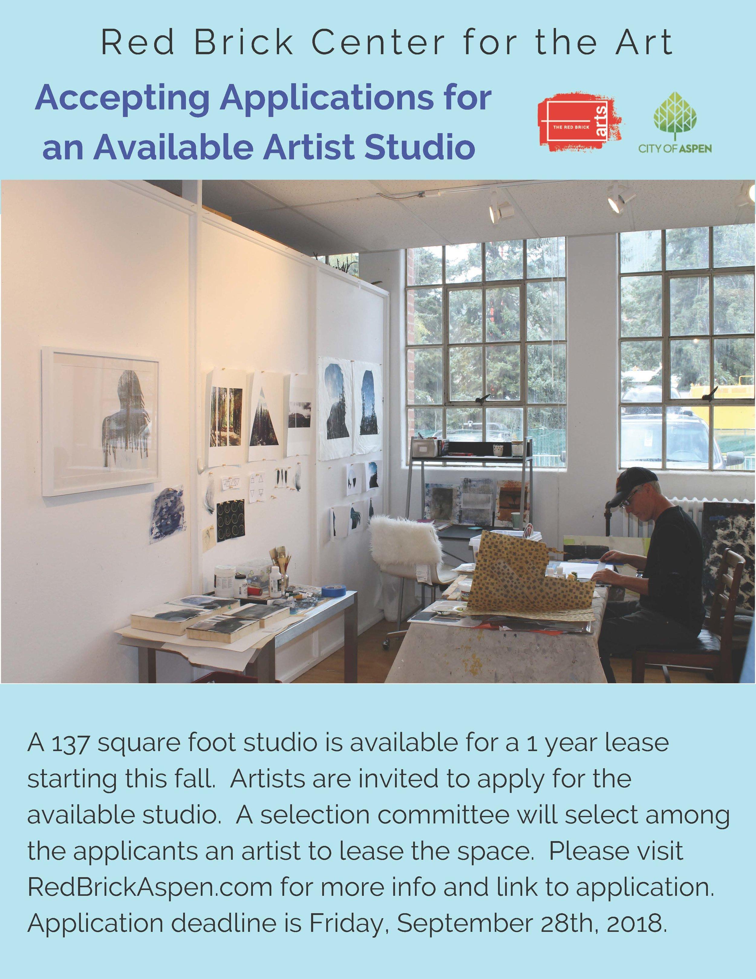 Available Studio - Call for Artist Applicants jpeg.jpg