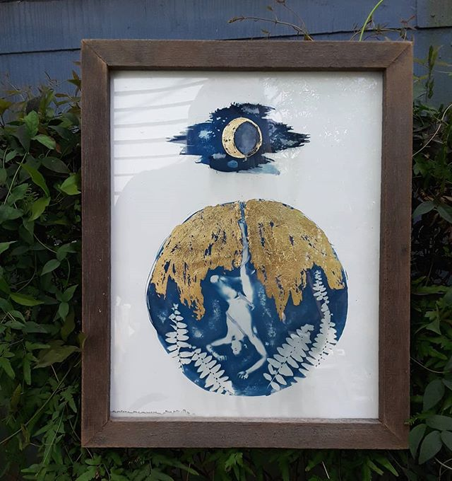 Framed the hanged man up for delivery to it's new home today!