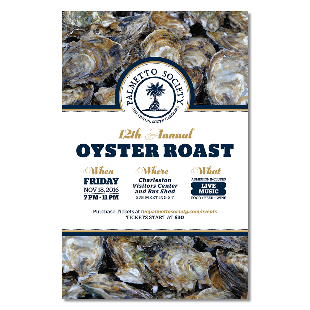 Palmetto Society Oyster Roast