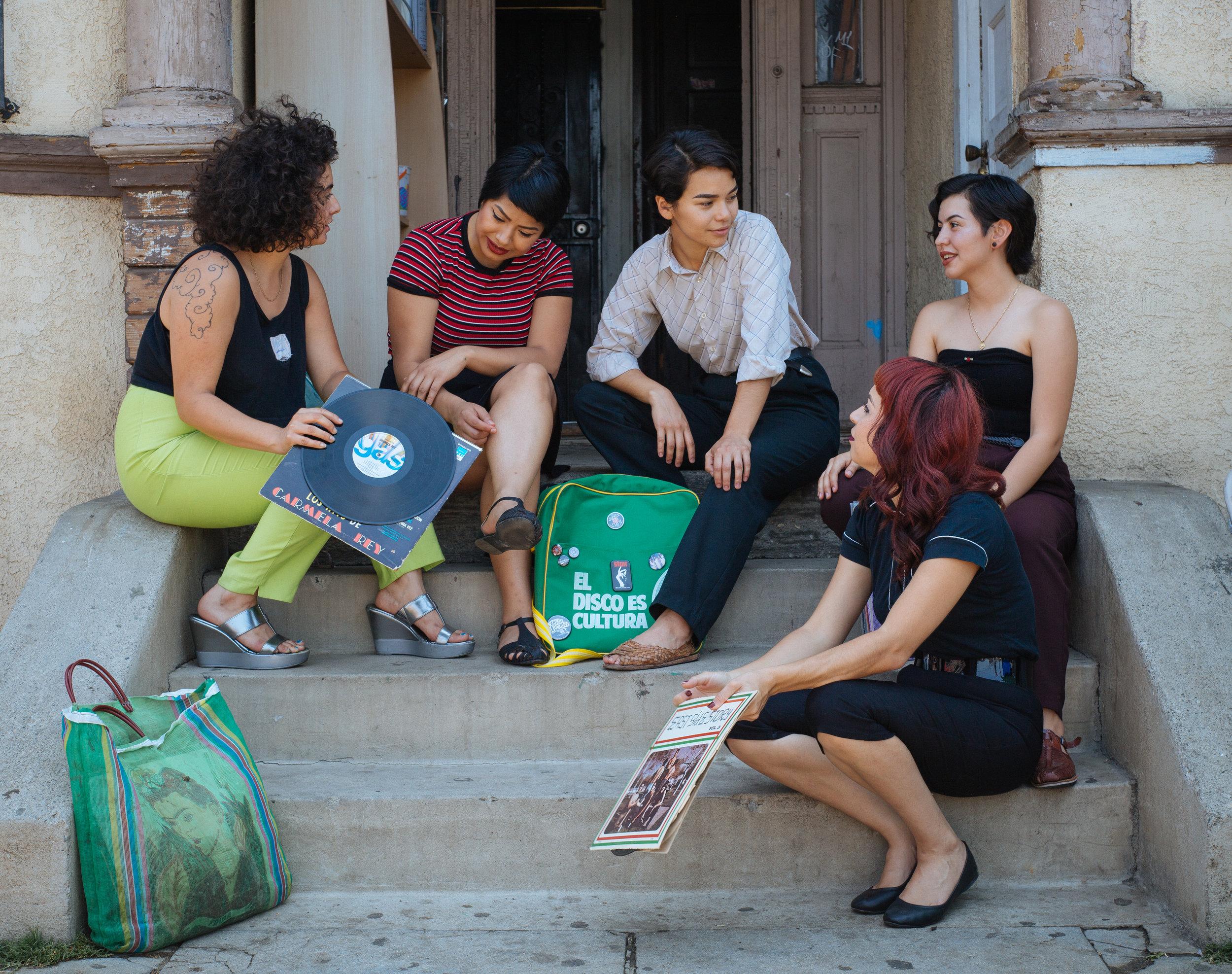Chulita Vinyl Club, Boyle Heights, California 2016