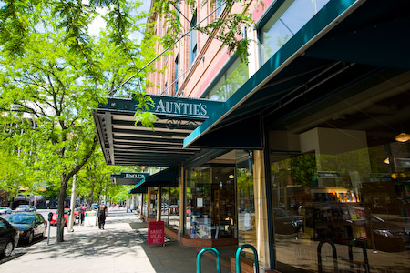 Auntie's Books in Spokane