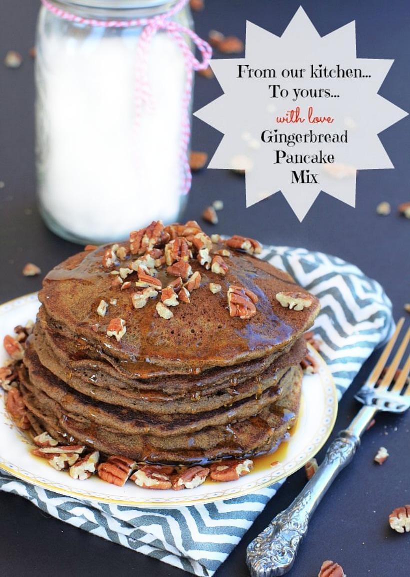 Gingerbread Pancakes by Ea Stewart