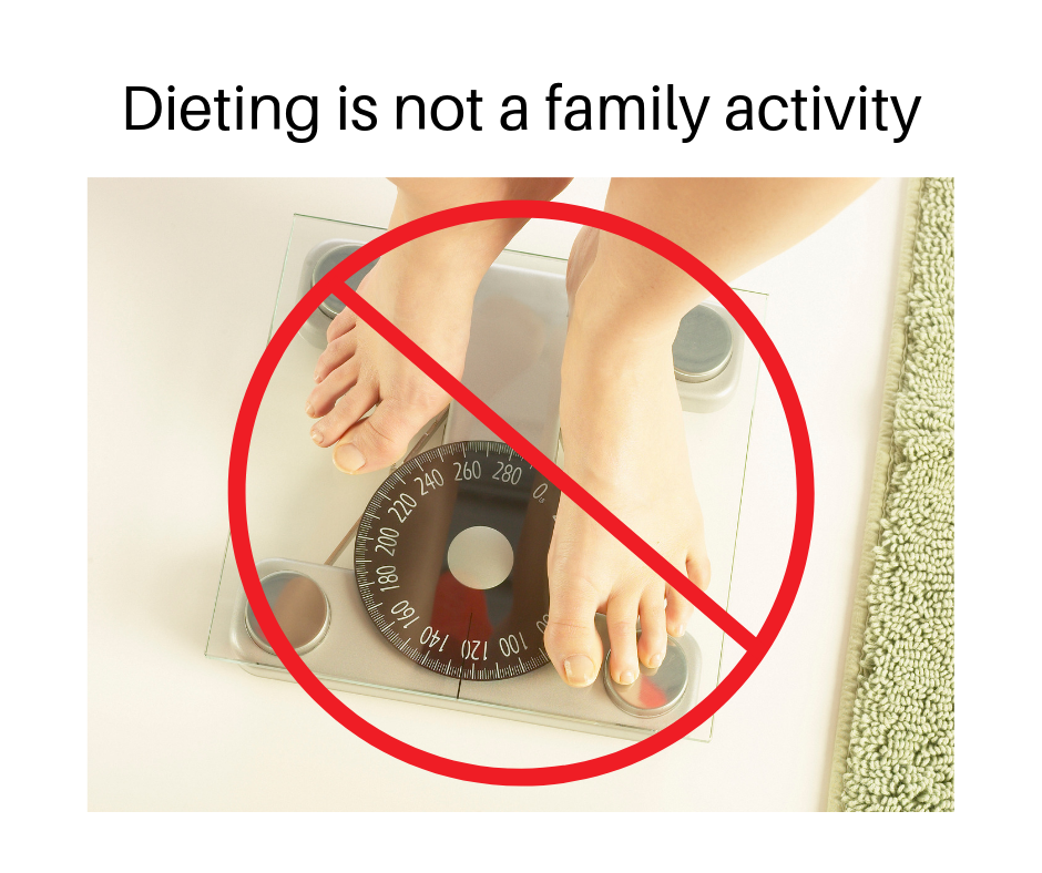 Dieting is not a family activity.png