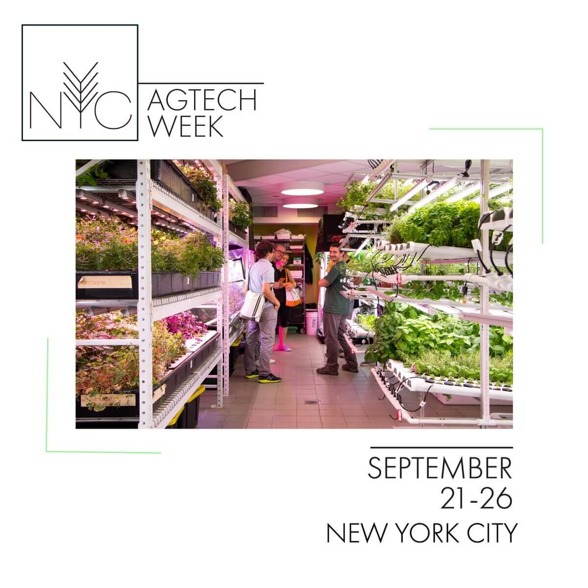 NYC AgTech Week Featured AgTech Week 2019 featured AgTech companies and Agriculture Technology Advocates