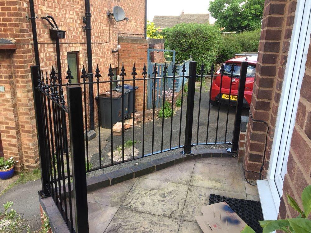 Fence Front Door
