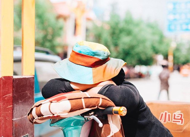 zzz… . EastTibet . 2017  #travel #trip #sigma50mmart #vsco #kodakportra160 #hat