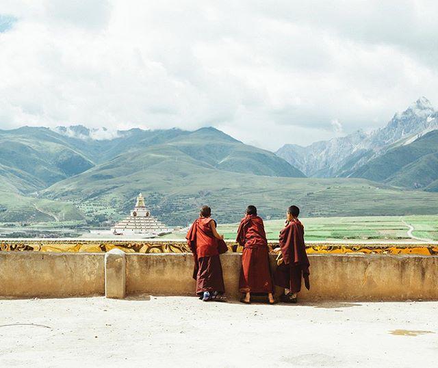 kids monk . EastTibet . 2017  #travel #trip #sigma50mmart #vsco #kodakportra160 #mt