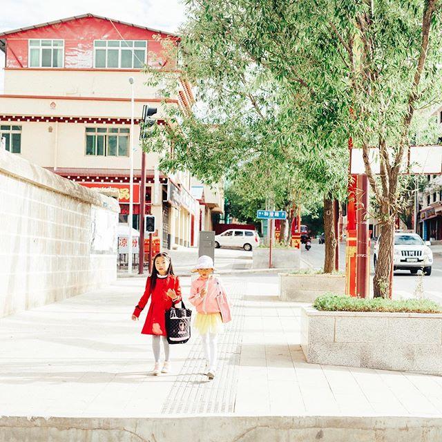 go to school . EastTibet . 2017  #travel #trip #sigma50mmart #vsco #vscocam #kodakportra160 #instavsco
