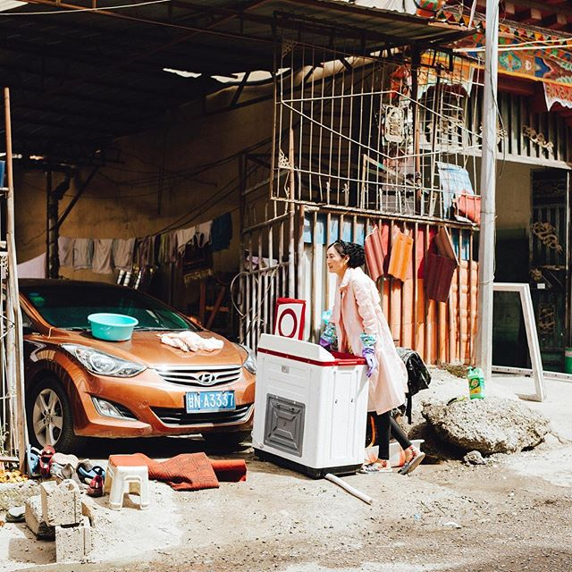 launder . EastTibet . 2017  #travel #trip #sigma50mmart #vsco #vscocam #kodakportra160