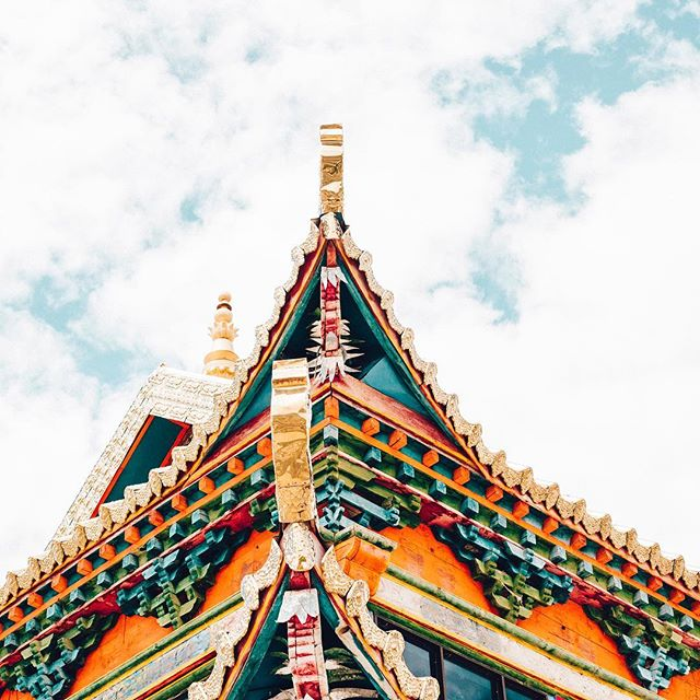 dgonpa . EastTibet . 2017  #travel #trip #sigma50mmart #vsco #kodakportra160 #temple