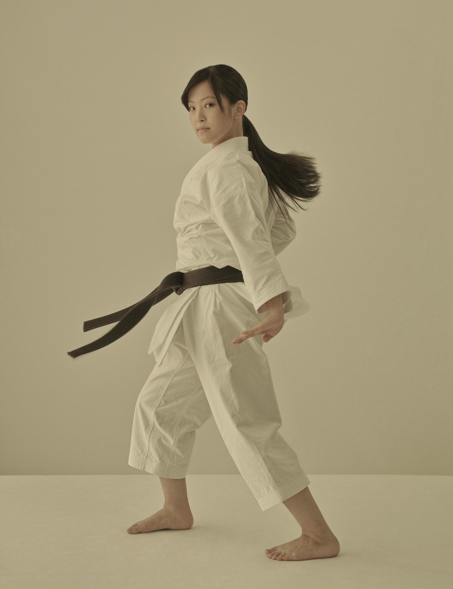 Karate practitioner