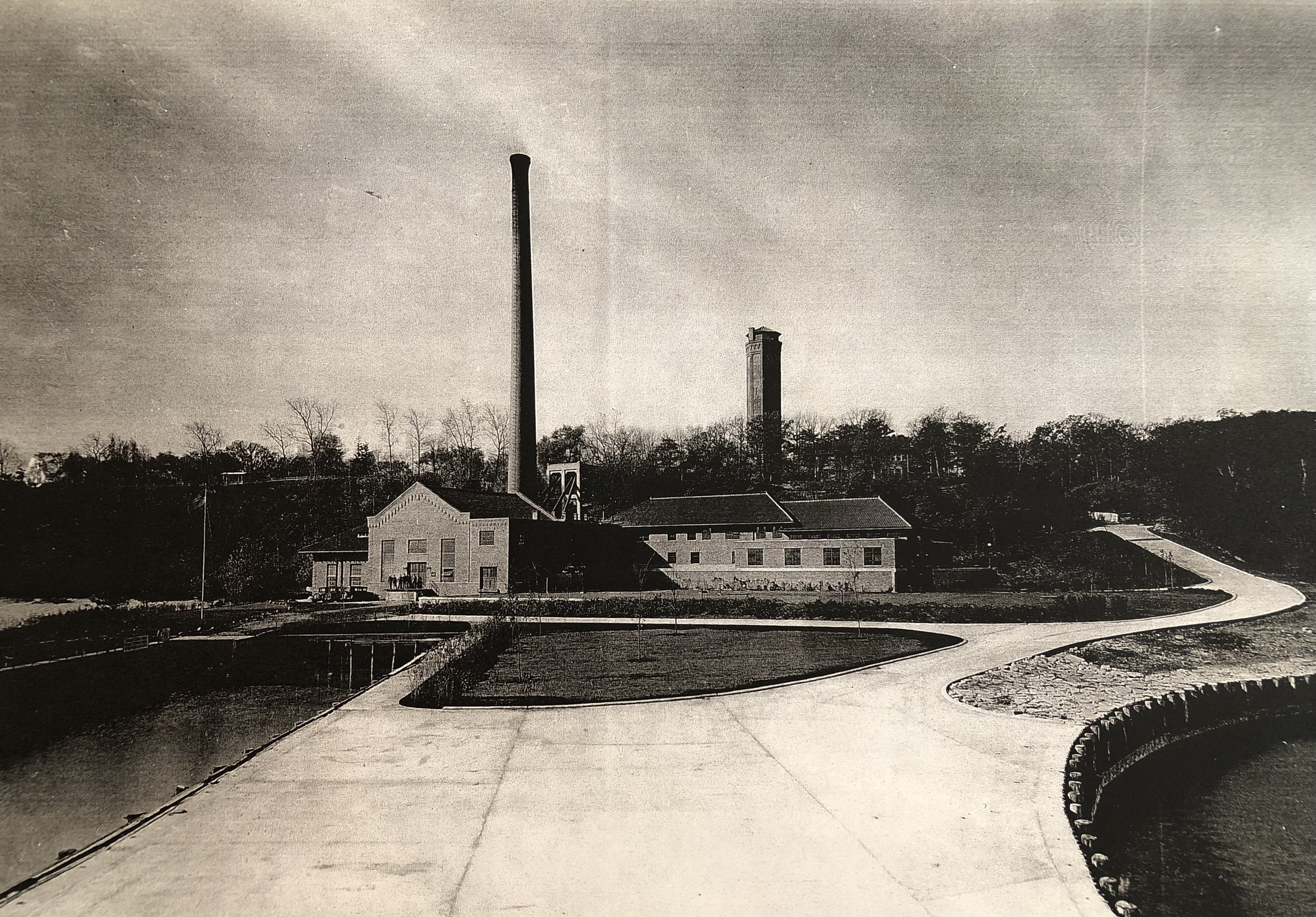 Water & Electric Plant circa 1930