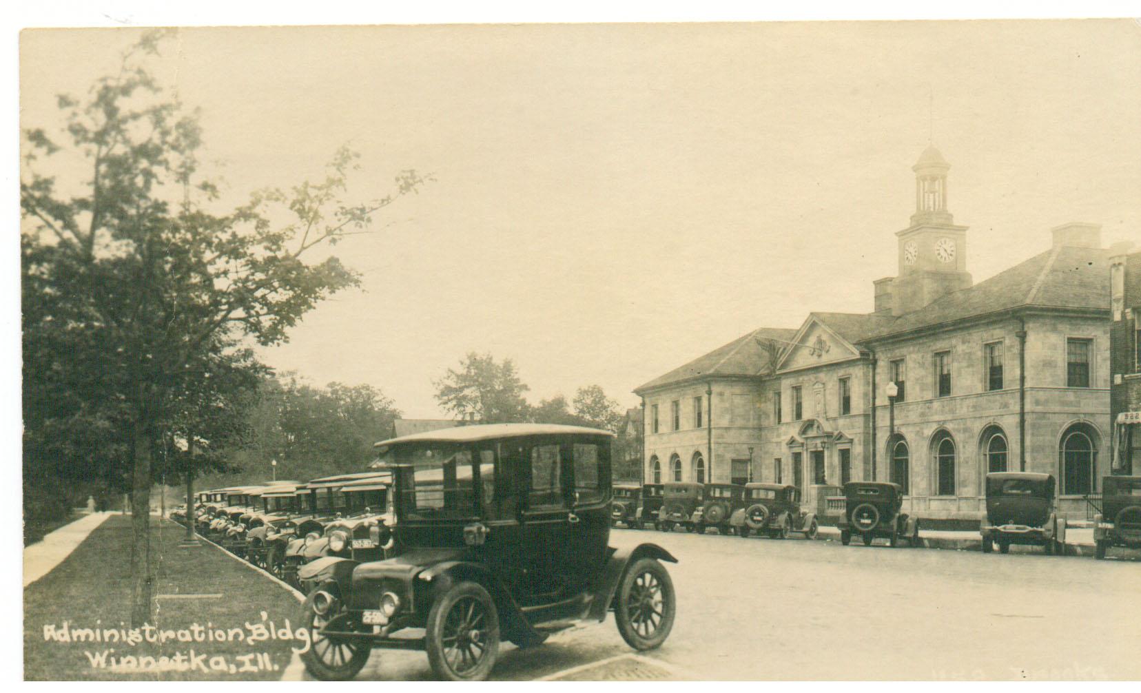 Village Hall circa 1935