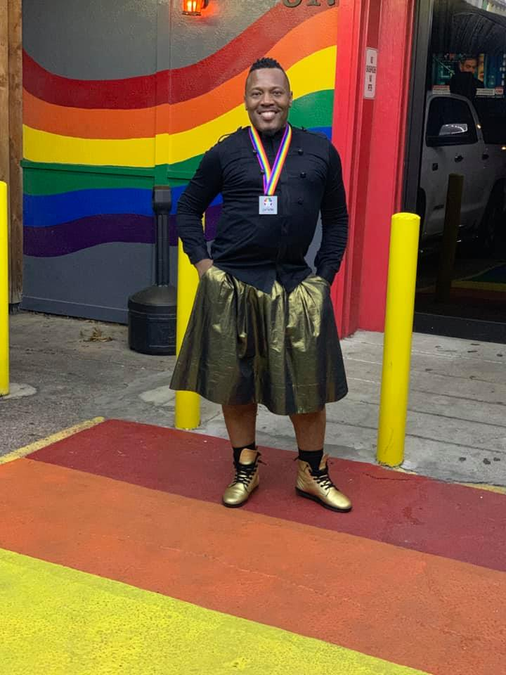 Pride Houston 2019 Male-identified Grand Marshal, Harrison Guy