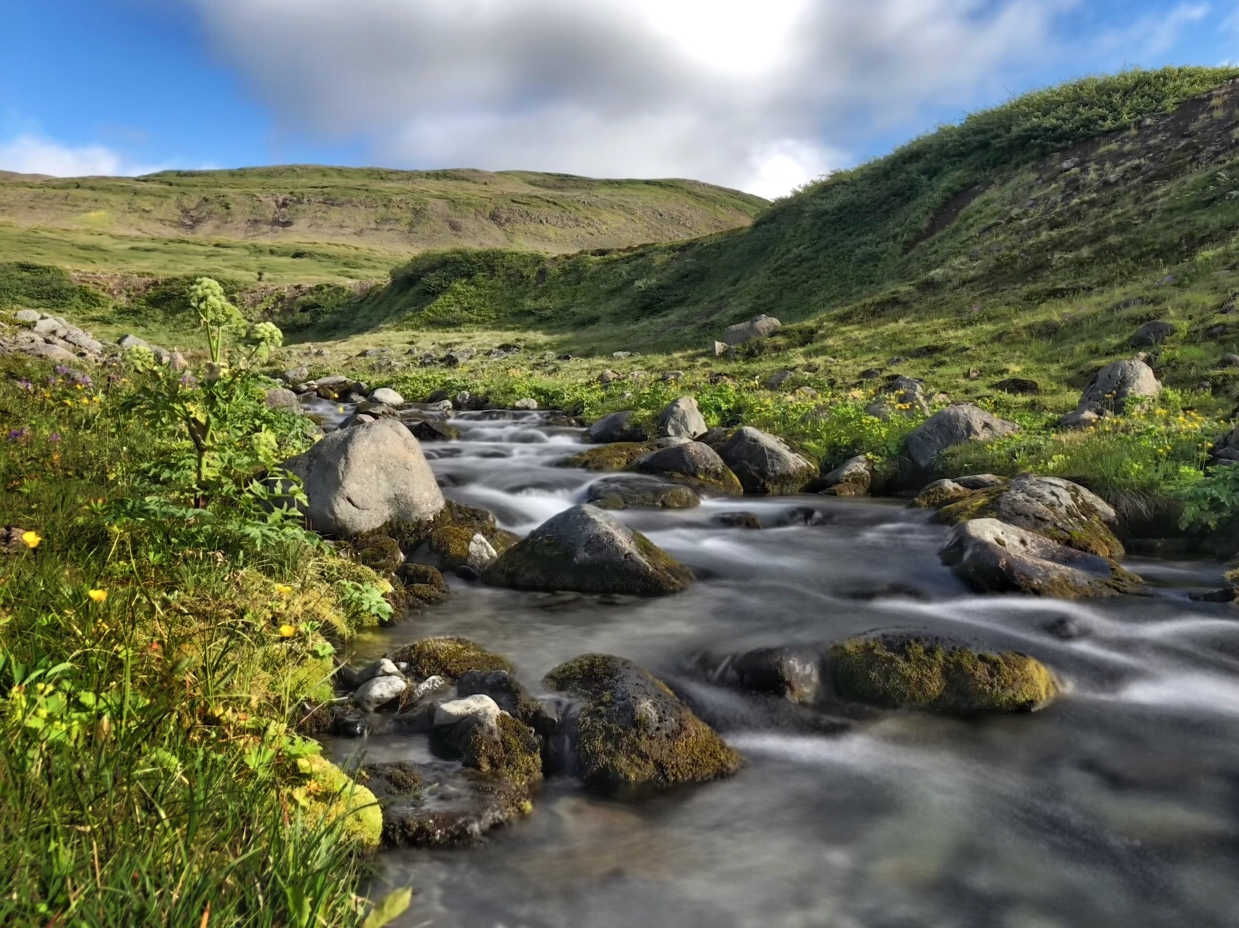 Hornstrandir Waterfall