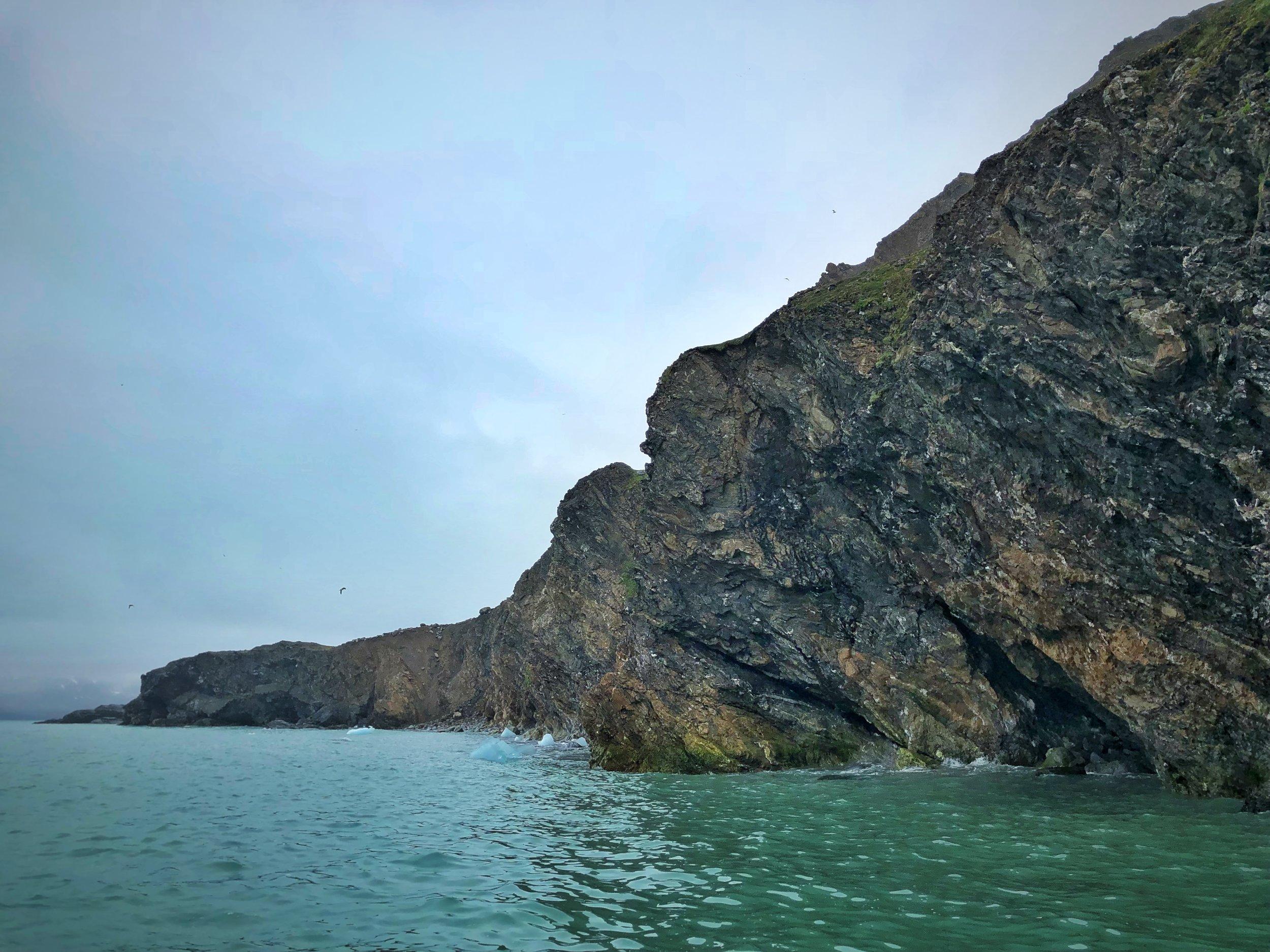 Puffin Cliffs —Fjortende Julibreen
