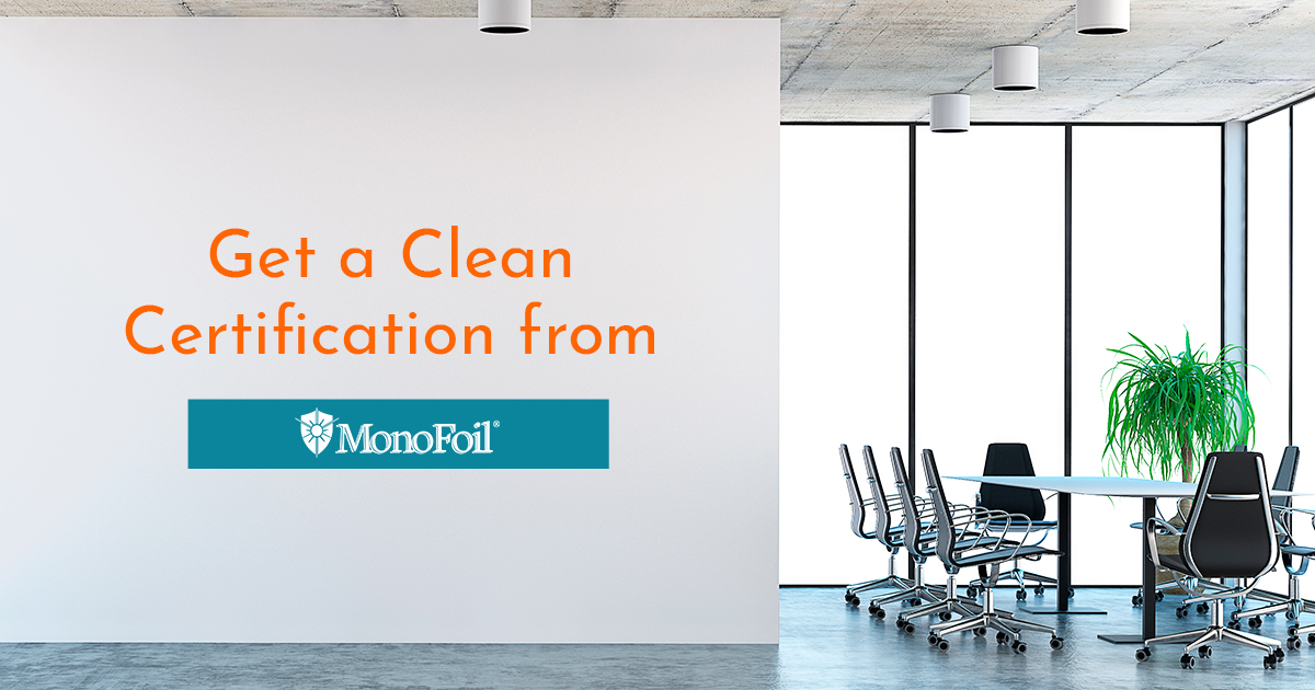 Get a Certified Clean office space