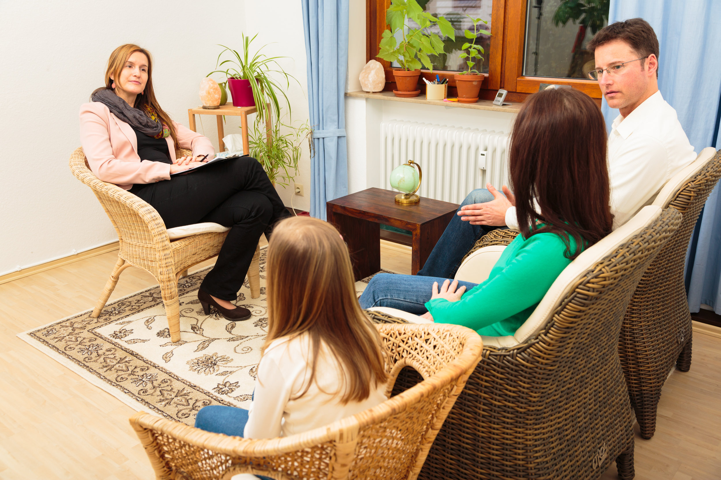 Welcome Families! - Family therapy differs from individual therapy in a very unique way. This is because in family therapy the focus is on the entire family system and how each person contributes to the relationships. Each member plays a role in the family and therapy can help redefine or define for the first time what those roles are.