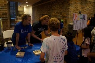Science Under the Stars- The Derbyshire lab had fun with science demonstrations for K-12 students.