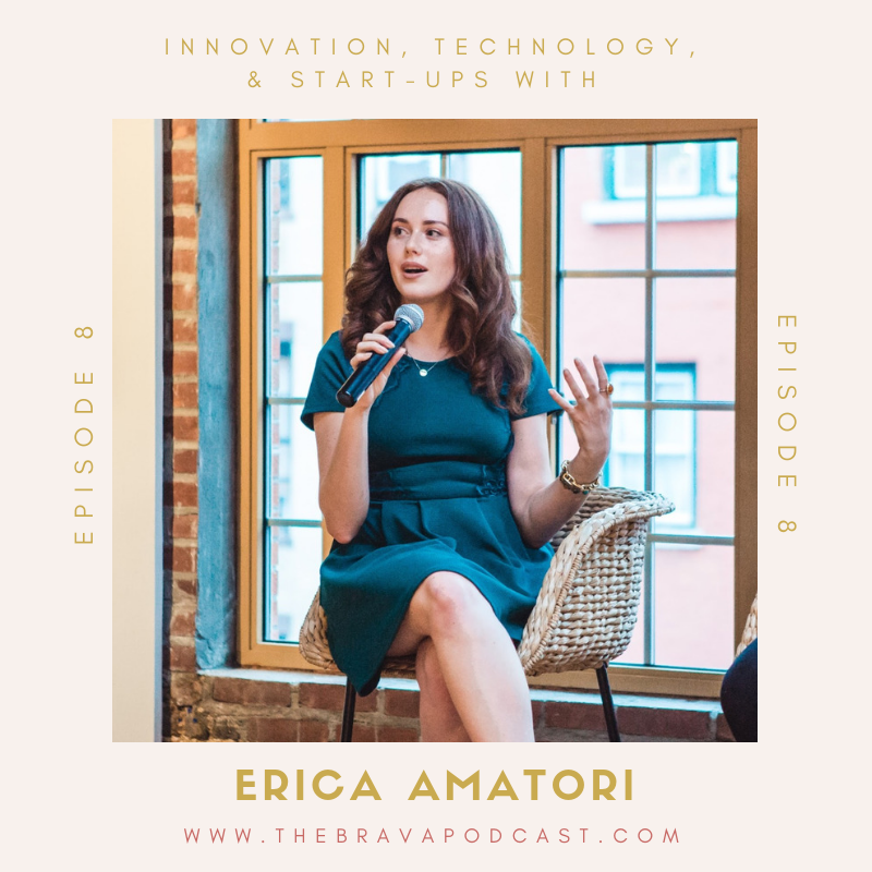 Erica Amatori on the Brava Podcast