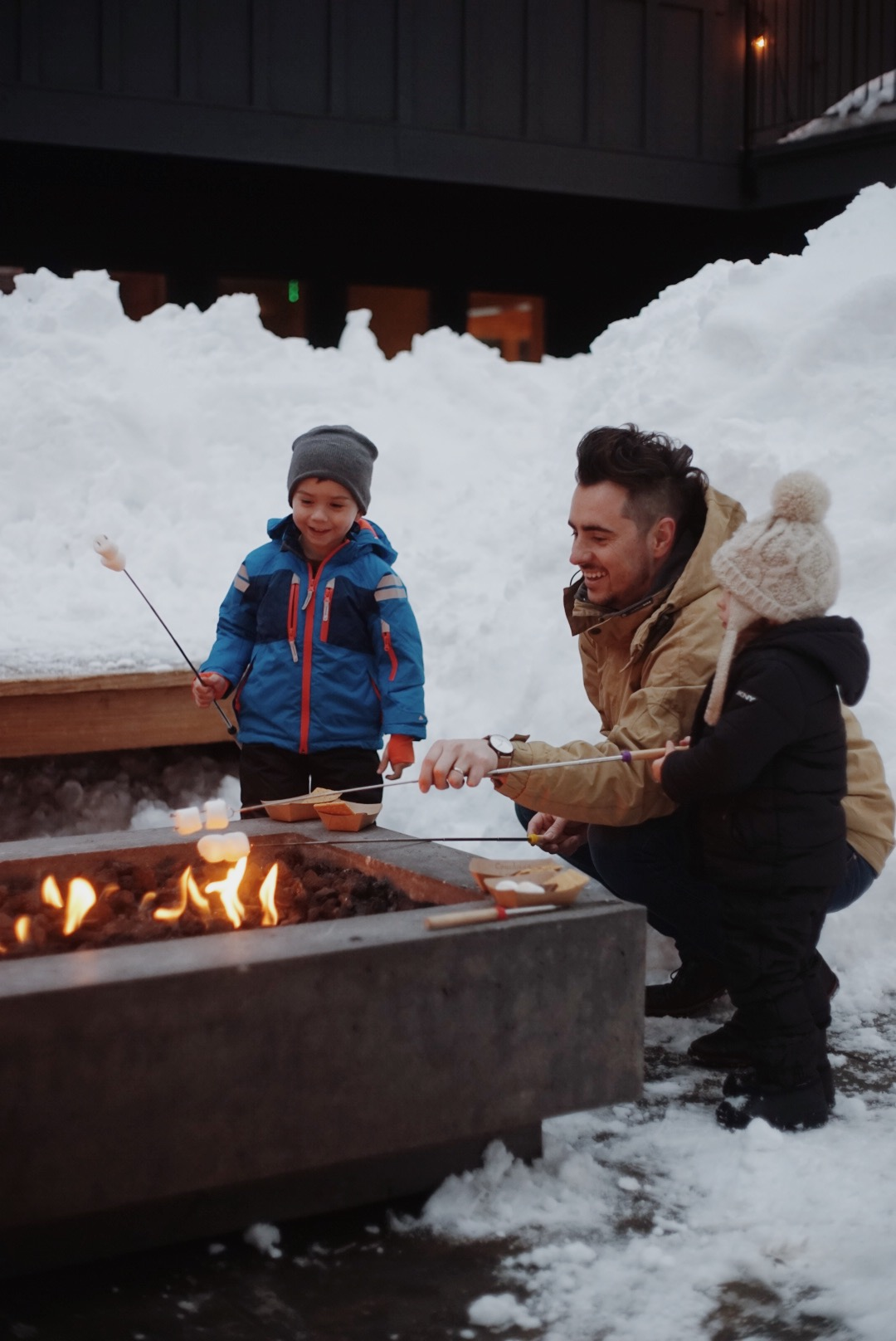 sweet memories around the fire with the whole family. -