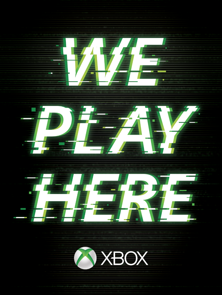 XBox: We play here