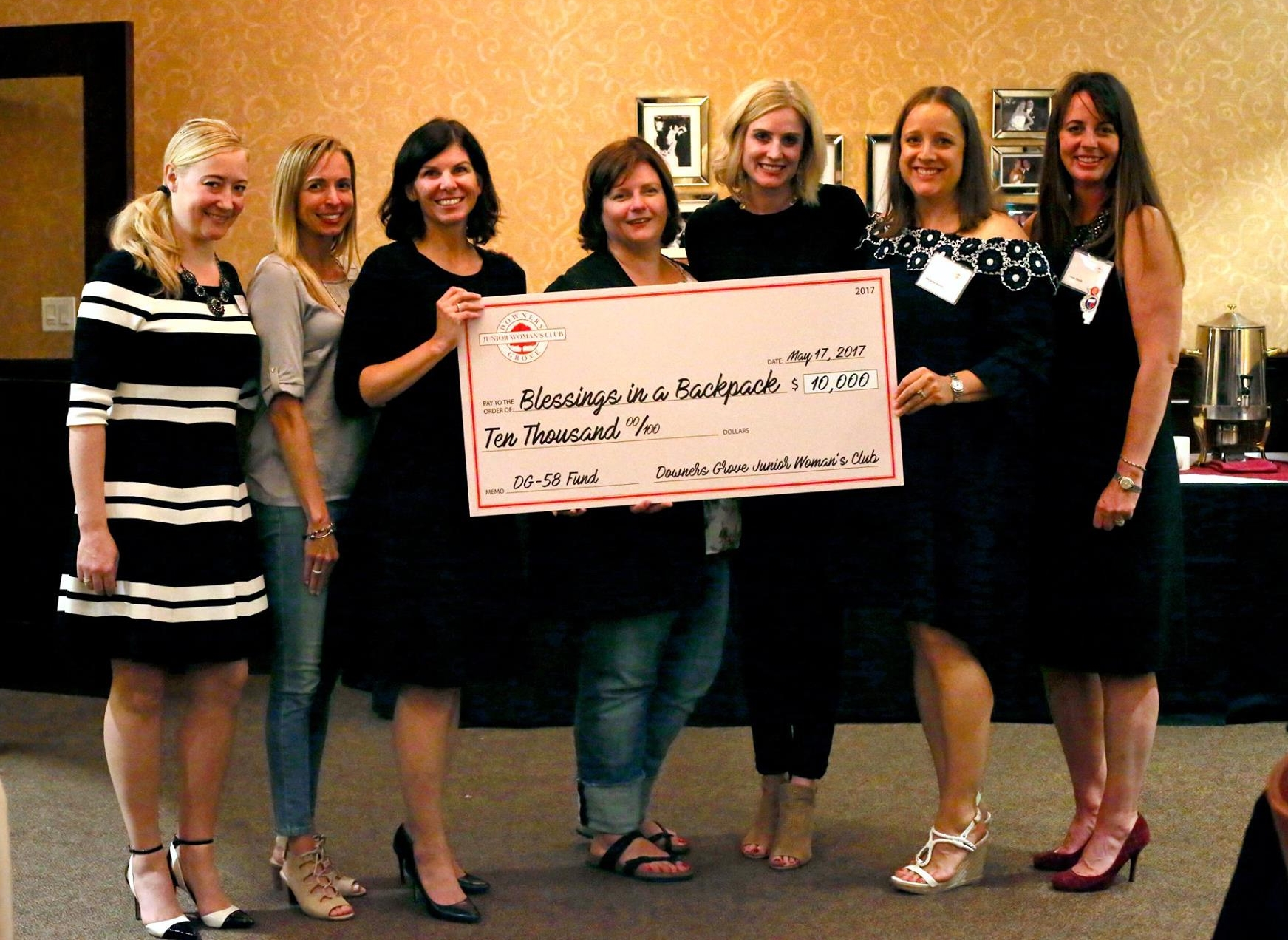 $10,000 Special Grant - The Downers Grove Junior Woman's Club, which serves the Downers Grove and surrounding DuPage County community, will be awarding a deserving local not-for-profit organization a one-time $10,000 grant to support current and future initiatives.