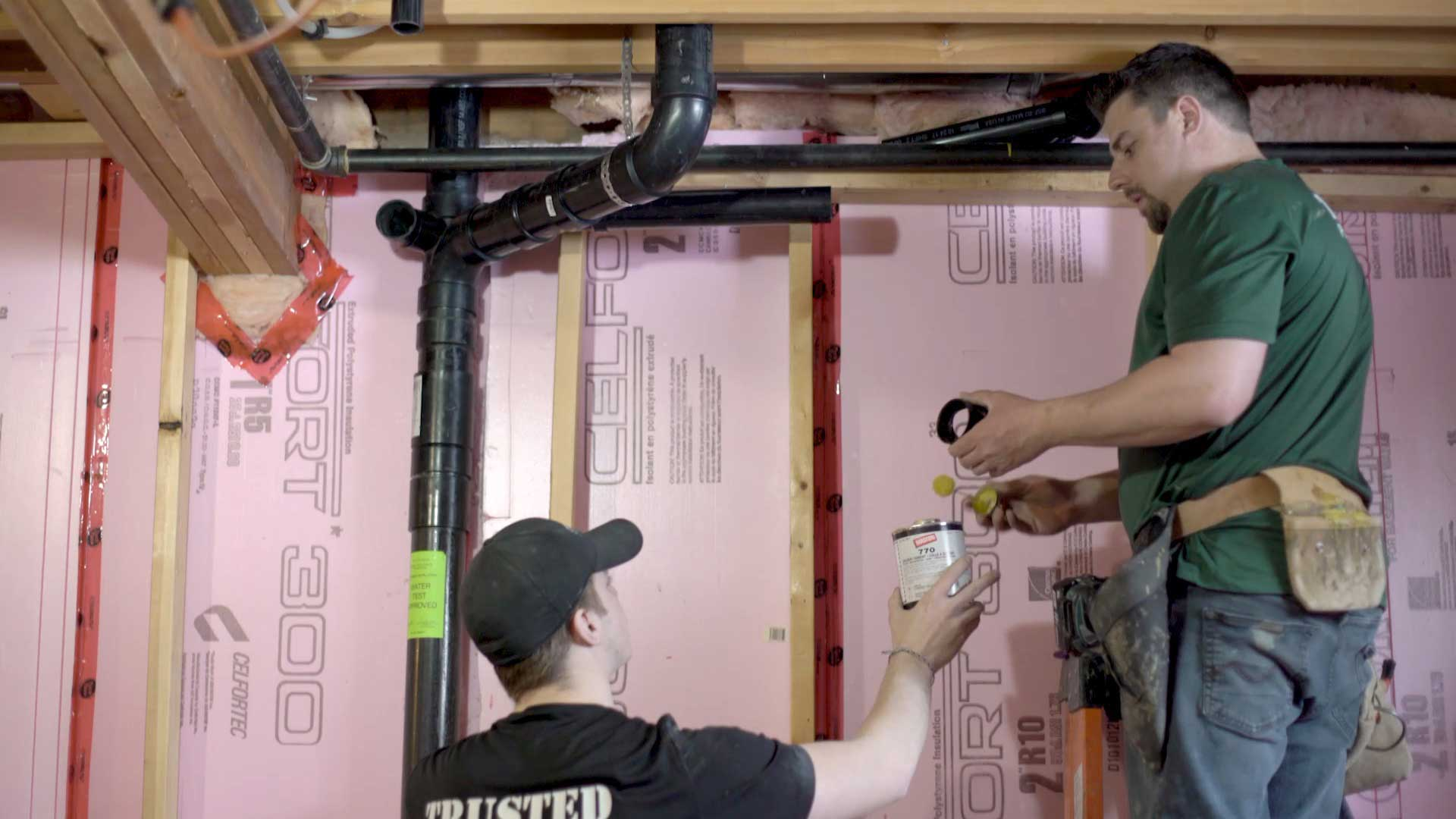 Renovations and new construction plumbing and heating projects