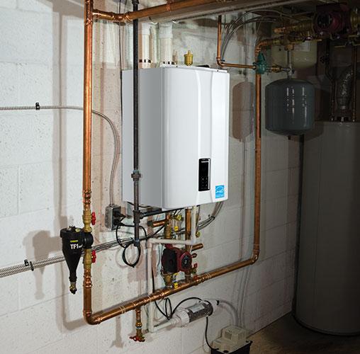 High Efficiency Boiler system