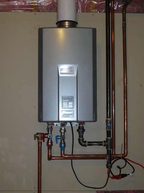 Tankless water heater
