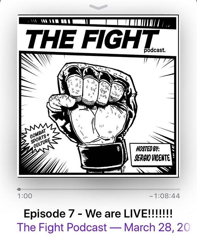 We are LIVE! Listen. Subscribe. Share. RATE. You can now find THE FIGHT PODCAST Live on ITunes and SoundCloud!!!!! Episodes 1-7 are up now!  Make sure to subscribe and support the movement today!!!! Link is in the BIO  THE FIGHT. A Combat Sports & Culture  HERE NOW!!! Hosted by @sergvicente  #TheFightPodcast #TheFight #CombatSports #MMA #Boxing #UFC #PFL #PBC #Bellator #Podcast #Chicago #ChiTown #ForTheCulture #Culture #SergVicente #ProspectAlert #TheBlackAthlete #mmafighting #mmajunkie #mmapodcast #ufcpodcast #boxingpodcast