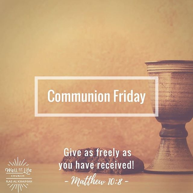 Tomorrow we remember the free gift of grace through Jesus, the better we understand it, the easier it is to share it with others. See you at church.