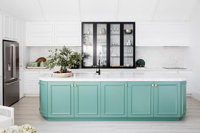 House 9 Green Kitchen