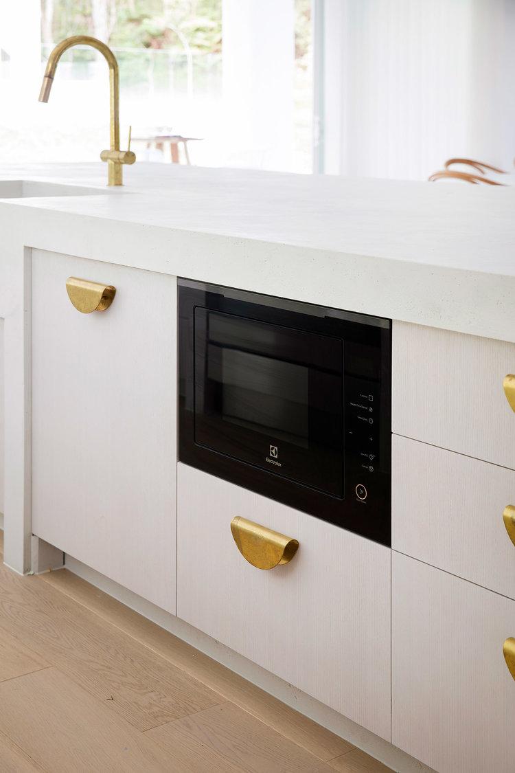 Microwave Oven, Kitchen Handles