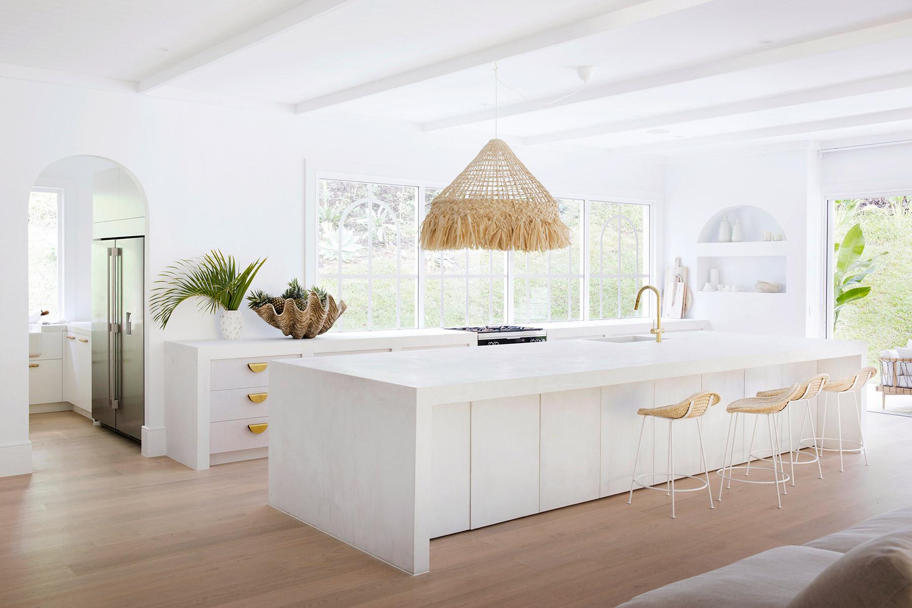 Kitchen, Concrete Benchtop