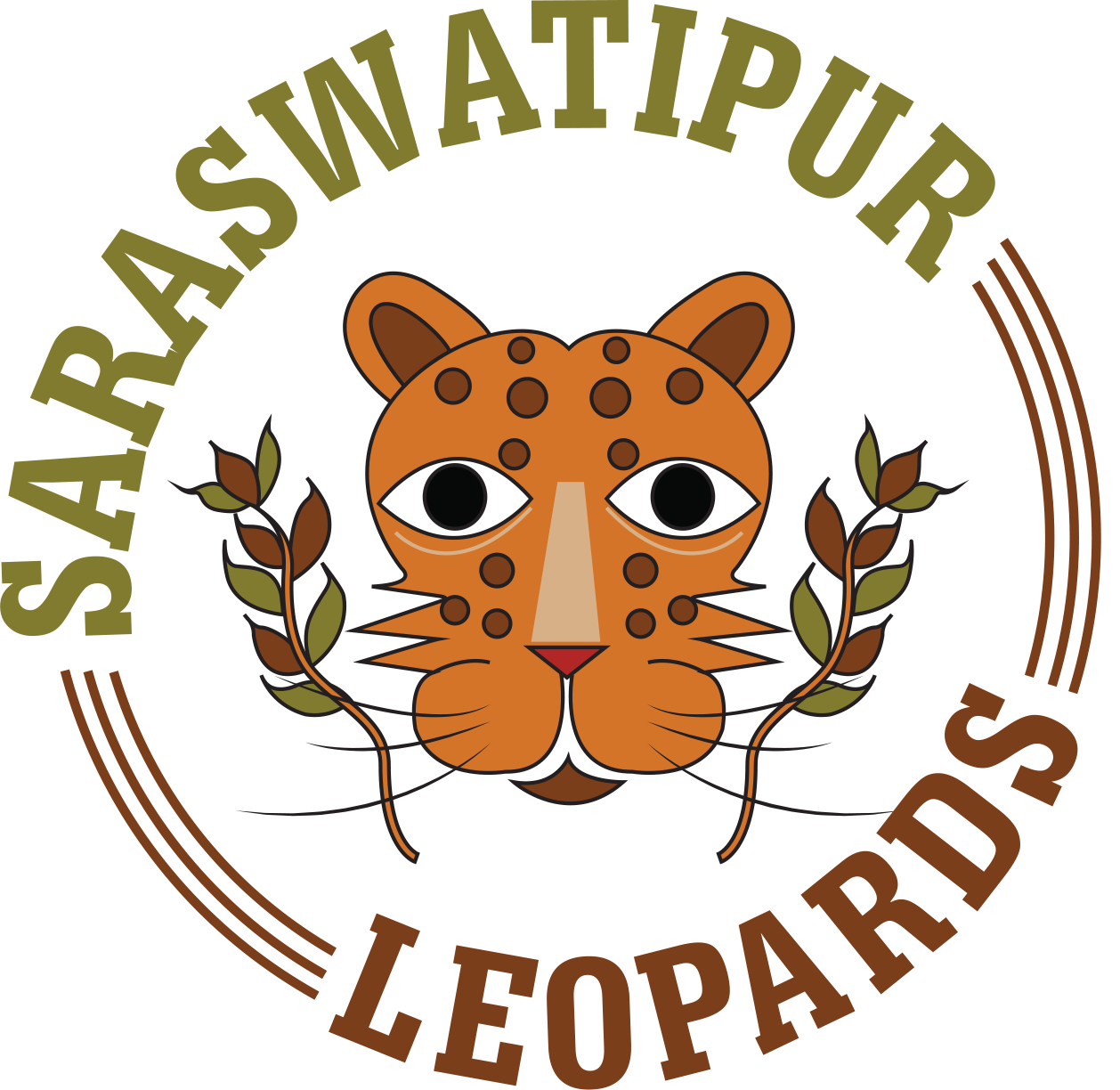 Saraswatipur Leopards - The team from the rugby mad villages of Saraswatipur in the north of West Bengal. These children love their rugby and play a quick as lightning version of the game honed on their very own riverside beach and on grounds next to elephant filled forests. And that Leopard is no mythical beast, they have leopards wandering around, stealing the odd animal.