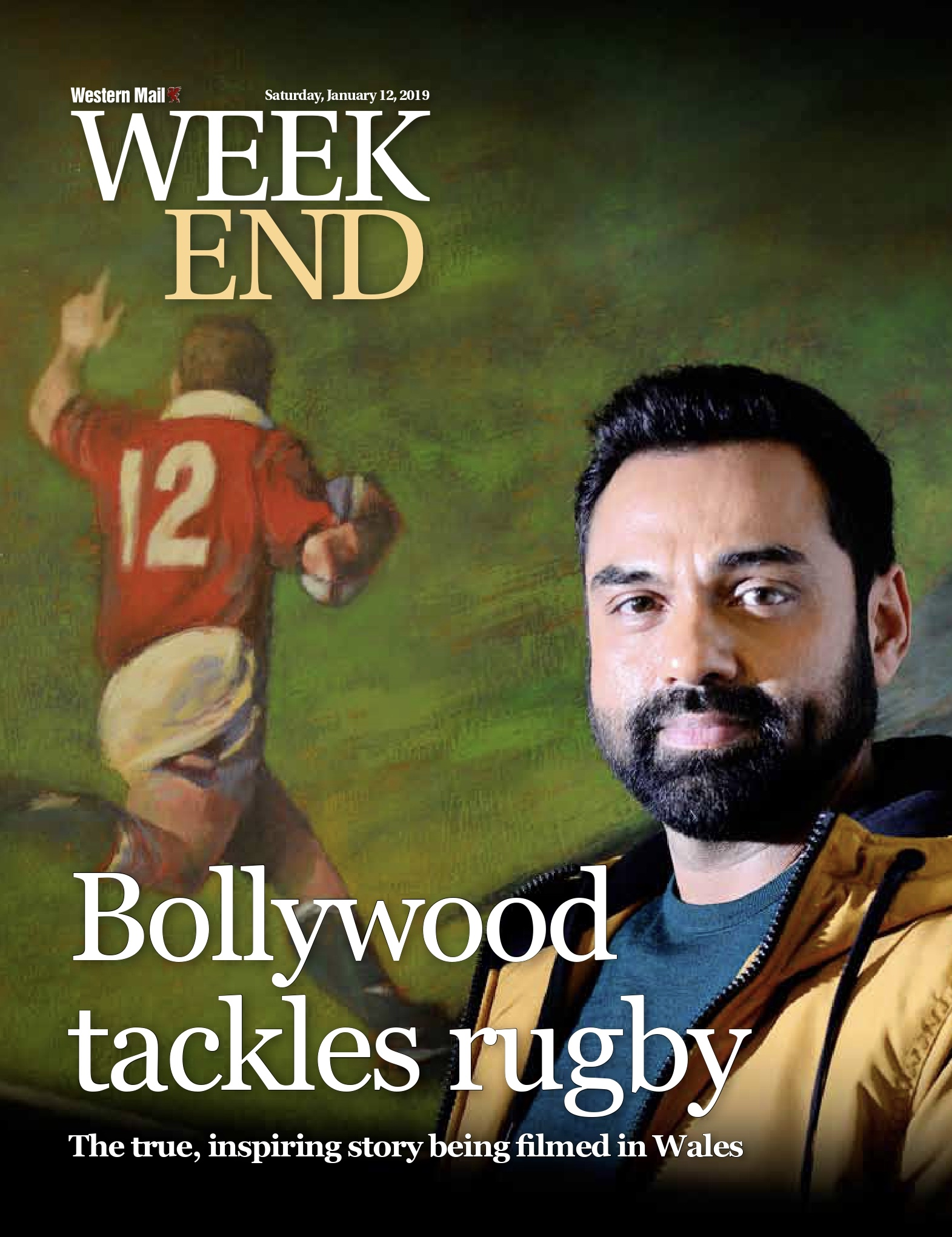 Bollywood tackles rugby - cover