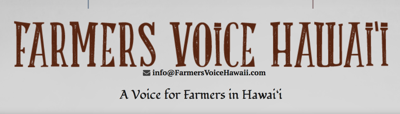 """Commodification of Culture: Notice of War Crimes""   Read the Farmers Voice Hawaii article"